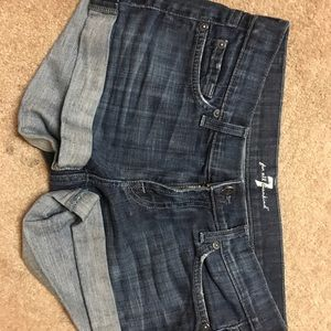Seven for all mankind shorts
